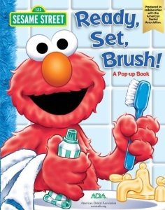 The Elmo from Sesame Street Book 'Ready set, Brush!'