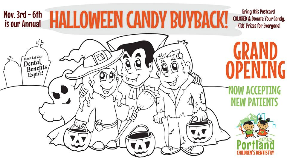 halloween candy buyback portland childrens dentistry